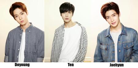 Doyoung, Ten, Jaehyun NCT